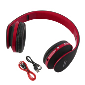 [Kingstore] Foldable Wireless Bluetooth Headset Stereo Over Ear Headphone Earphone