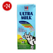 ULTRA Milk Full Cream Carton 200ml x 24pcs