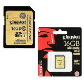 KINGSTON SDHC 16GB Class 10 UHS-I Ultimate