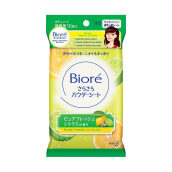 BIORE Sarasara Body Powder Sheets Fresh Citrus 10's