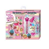 HOT FOCUS Top Secret Scented Journal Set - Sweets 204SC