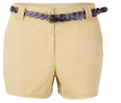 Kangol- Women's Summer hot pants with a pair of casual shorts with a slim suit of pants- Dark Blue