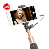 VIVAN ST02 - Tongsis Cable Selfie Stick for Android / iPhone - Garansi Resmi 1 Tahun