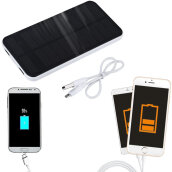 [Kingstore]Portable External 12000mAh Solar Charger Battery Power Bank For Cell Phone