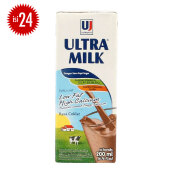 ULTRA Milk Low Fat Coklat Carton 200ml x 24pcs