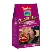 LOACKER Quadratini Blackcurrent 220g