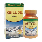 NATURE'S HEALTH Krill Oil 500mg 30 Softgels