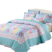 VINTAGE STORY Bedcover Shabby Floral  Set 6 in 1  (SF05)