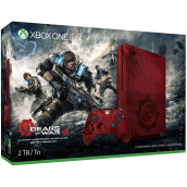 MICROSOFT Xbox One S 2TB - Gears of War 4 Limited Edition Bundle