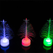 Jueja Novelty Glowing Christmas Tree Night Lamp Led RGB