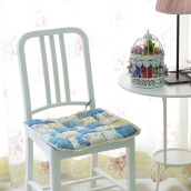 VINTAGE STORY Shabby ChairPad Royal Blue