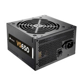 CORSAIR VS650 650W 80 Plus Fan Size 120 mm