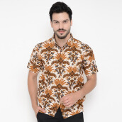 FBW Clinton Short Sleeves Batik Shirt Bunga