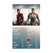 MANDIRI E-Money Justice League First DC Edition Set Character
