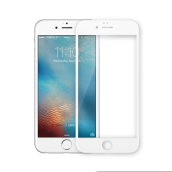 UNEED Shield 3D Hybrid Glass Protector for iPhone 6 Anti Break - White