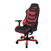 DX RACER Iron Series OH/IS166/NR Black, Red Gaming Chair