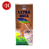 ULTRA Milk Mocca Carton 250ml x 24pcs
