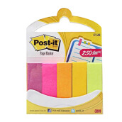 POST-IT 671-5ANL Page Maker Assorted Sticky Notes 144PK/CV