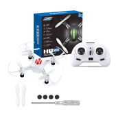 JJRC H8 Drone Mini Pocket Quadcopter RC 2.4GHz 4CH 6-Axis - White