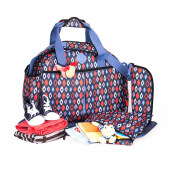 OKIEDOG Freckles Travel Bag BlueRed Rombe