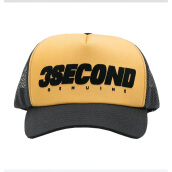 3SECOND Hat 132081718Kn - Yellow [Free Size]