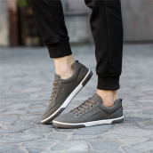 BESSKY Men's Smart Casual Fashion Shoes British Style Sneakers Running Shoes _