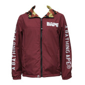 A BATHING APE 1st Camo Reversible Jacket Red [ABA01620C] M