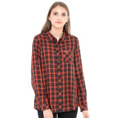GREENLIGHT Casual Girls Shirt 0105 - Red