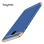 Keymao Samsung Galaxy J7 Pro case 3 in 1 Electroplate Frame Matte Metal Cover