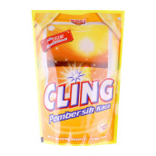 CLING Kuning Pouch Carton 425ml x 12pcs
