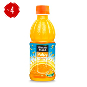 MINUTE MAID Pulpy Orange PET Botol 350mlx4pcs