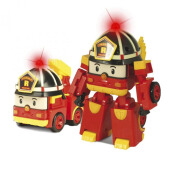 ROBOCAR POLI Transforming Robot with Lighting Roy RP 83093