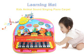 Kids Animal Sound Singing Piano Carpet Learning Educational Musical Play Mat Toy