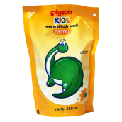 PIGEON Kids Wash Liquid Orange Manggo Refill 350ml - PR070105