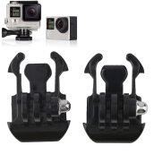 Camera Mount Base Adapter Buckle Helmet Sets For Gopro Hero 4/3+/3/2/1 2 Pcs