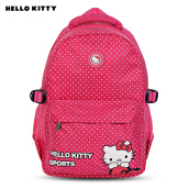 Hello Kitty Cute Schoolbag Multifunction Backpack for Kid Girls TUTTI FRUTTI CHECKS
