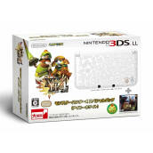 NINTENDO 3DS LL Console Limited Edition Monster Hunter 4 - Airu White