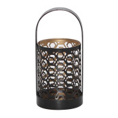 VIVERE Lantern Candle Holder Wavy - 20x10x10Cm