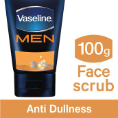 VASELINE Men Face Anti-Dullness Face Scrub 100g