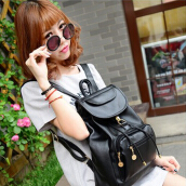 New Women's Backpack Travel PU Leather Handbag Rucksack Shoulder School Bag