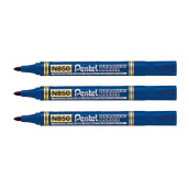 PENTEL Permanent Marker N 850-C (Blue) SET 3