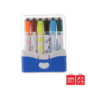 Miniso Official Watercolor Pen with Seal Multicolor