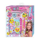 HOT FOCUS Tape Art Secret Passcode Journal - Emoji 256SR EM