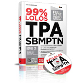 99% Lolos TPA SBMPTN (Plus CD) - The King Eduka CM001288