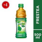 FRESTEA Green PET Botol 500mlx4pcs