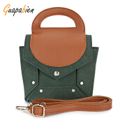 Guapabien Rivet Shoulder Crossbody Bag Women Handbag