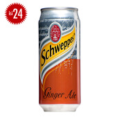 SCHWEPPES Ginger Ale Can 330ml x 24pcs