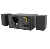 THONET & VANDER Grub Multimedia Speaker 2.1 - Black