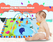 Baby Soft Play Mat Folding Gym Blanket - Ocean