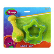 Barney Baby Rattle Set 02 NB-01739
